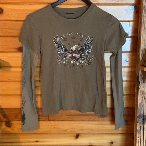 2006 Long sleeve Harley Davidson shirt